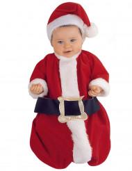 Costume deluxe per babbo Natale neonato
