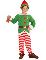 Costume Elfo di Natale bambino