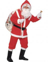 Costume da Babbo Natale deluxe uomo
