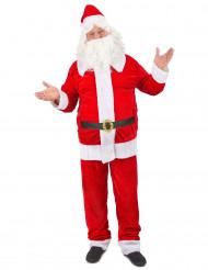 Costume Babbo Natale deluxe uomo