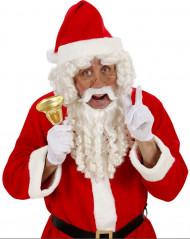 Parrucca e barba da Babbo Natale deluxe adulto