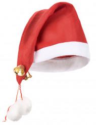 Image of Cappello natalizio con campanelli adulto