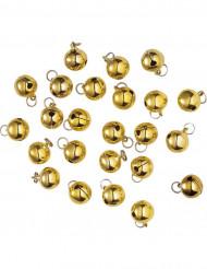Decorazione campanelli dorati Natale