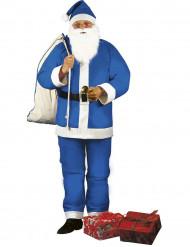 Costume Babbo Natale blu