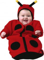 Costume coccinella tutina da neonato