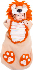 Costume sacco nanna da leone neonato