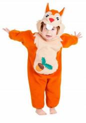 Costume scoiattolo neonato