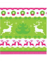 20 Tovaglioli di carta Renne di Natale