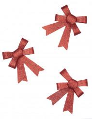 Accessori regalo fiocchetti rossi di Natale