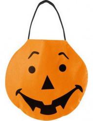 Borsetta zucca arancione Halloween