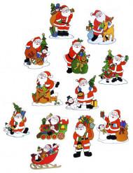 Decorazione natalizia per finestre Babbo Natale