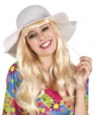 "Cappello ""floscio"" bianco donna"