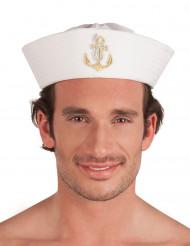 Cappello marinaio con ancora per adulto