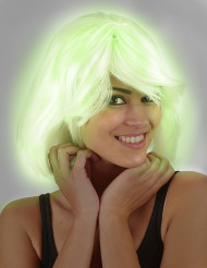 Parrucca fosforescente donna