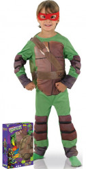 Costume imbottito Tartarughe Ninja™ deluxe bambino con cofanetto