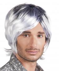 Parrucca grigia uomo