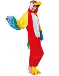 Costume tuta da pappagallo adulto