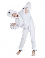 Costume orso polare bambino