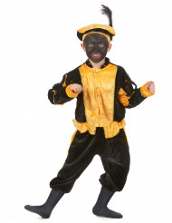Costume da zwarte piet giallo per bambino