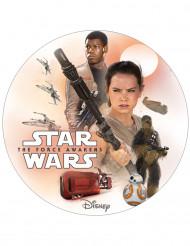 Disco decorativo per torte Star wars™