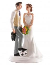 Decorazione per torta matrimonio coppia umoristica