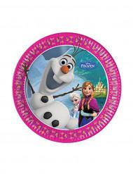 8 Piattini 20 cm Frozen-Il Regno di Ghiaccio™