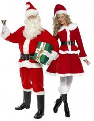 Costume coppia Babbo e Mamma Natale