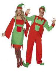 Costume coppia elfi Natale