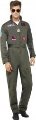 Costume pilota di linea deluxe Top Gun™ adulto