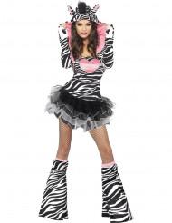 Costume zebra sexy donna
