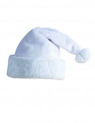Cappello da Babbo Natale bianco