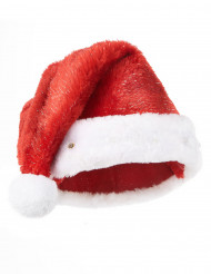 Image of Cappello Babbo Natale adulto luminoso
