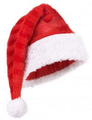 Cappello Babbo Natale a righe adulto