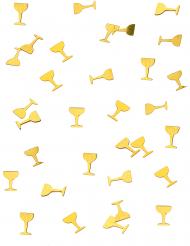 Coriandoli da tavola Coppa di champagne