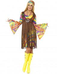 Costume hippie anni '70 donna