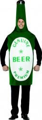 Costume bottiglia di birra adulto
