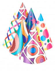 6 Cappellini per la festa colorati