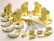Set accessori per la festa dorati Buon Anno