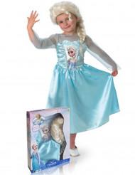 Costume da Elsa Frozen™ deluxe per bambina con cofanetto