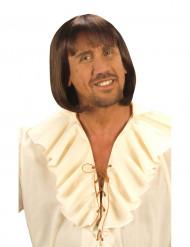 Parrucca medievale castana uomo