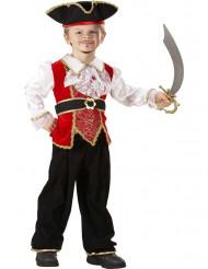 Costume da pirata deluxe bambino