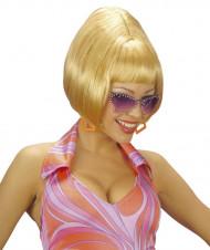 Parrucca carré bionda da donna