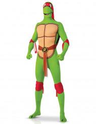 Costume seconda pelle Tartaruga Ninja™ Raffaello adulto