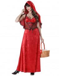 Costume cappuccetto rosso adulto