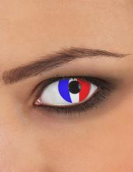 Lenti a contatto fantasia Francia