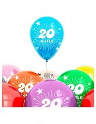 8 palloncini 20 anni