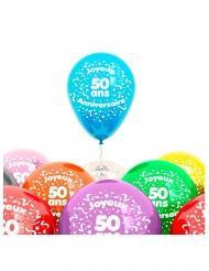 8 palloncini 50 anni