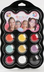 Palette trucco 9 colori Principessa Grim Tout