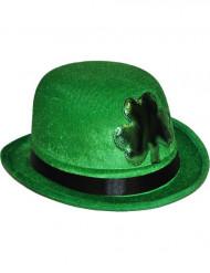 Cappello a bombetta verde San Patrizio