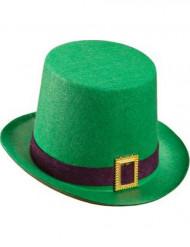 Cappello a cilindro verde San Patrizio